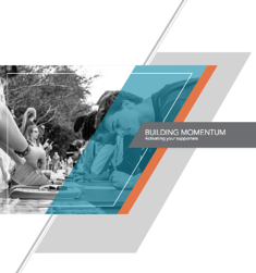 cover page of Building Momentum guide