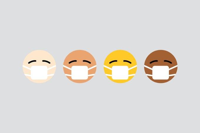 mask emojis