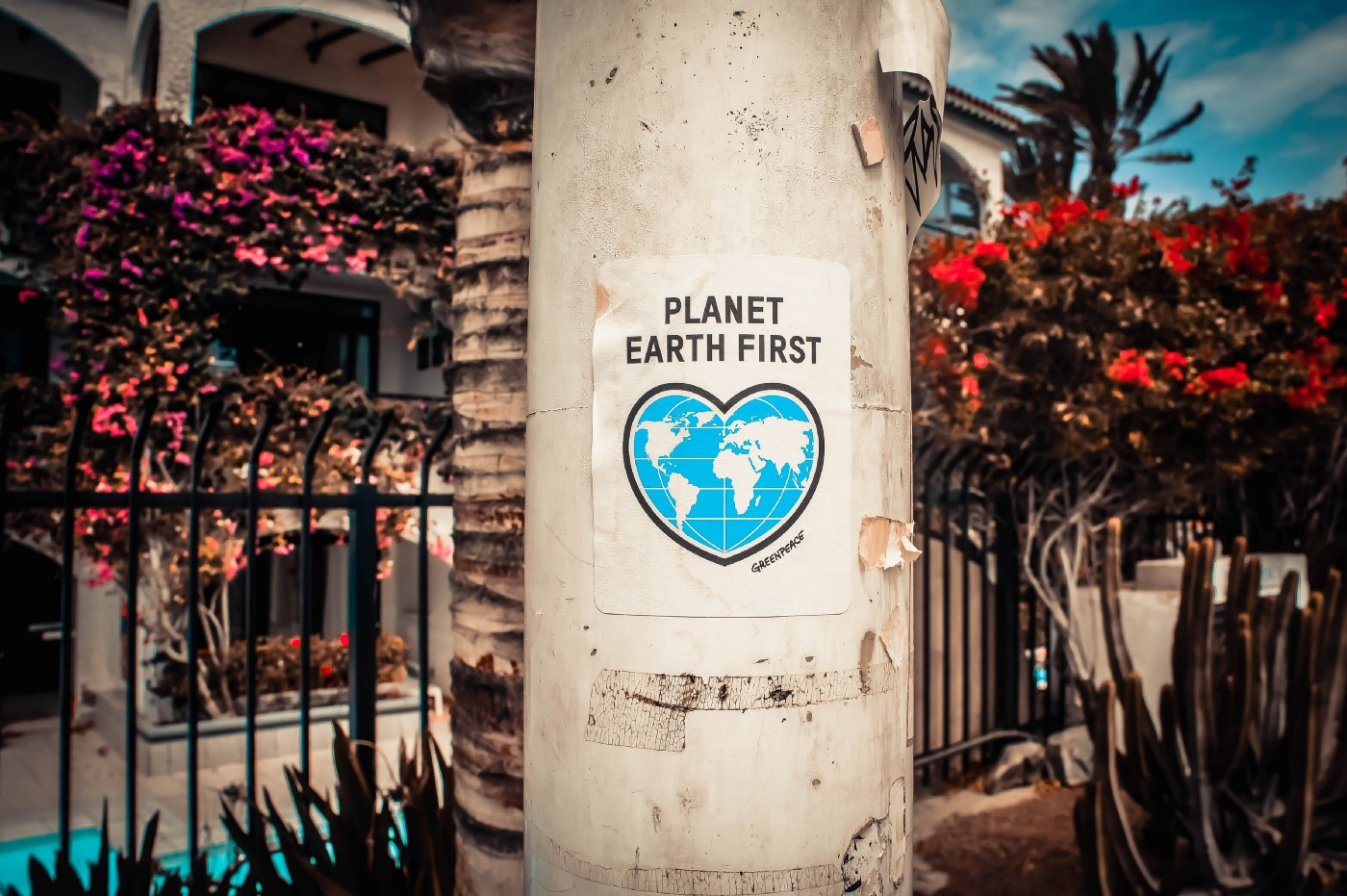 sign planet earth first