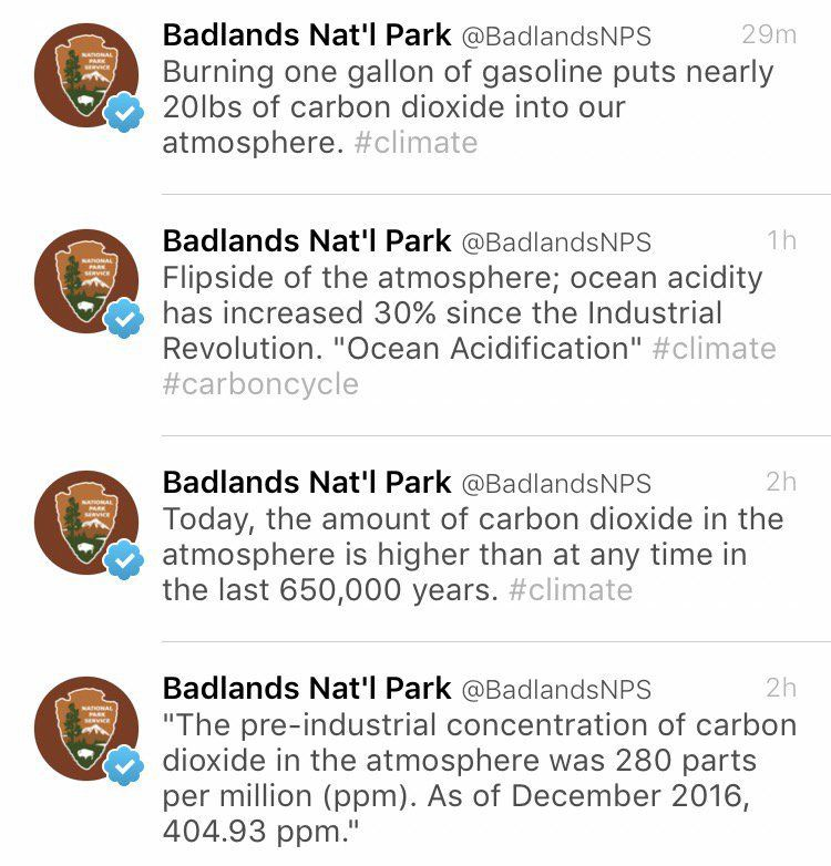 National Park Service Goes Rogue