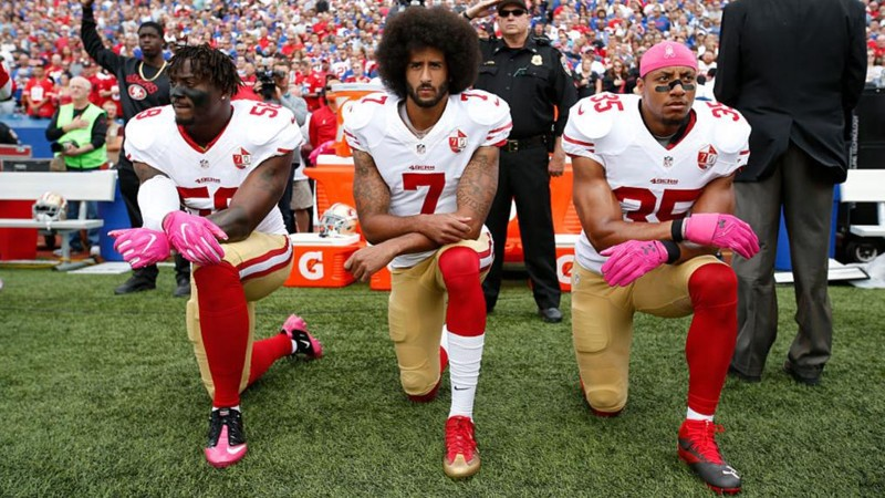 The NFL Takes a Knee