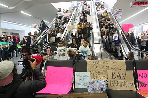 Airport Protests Against the Muslim Ban