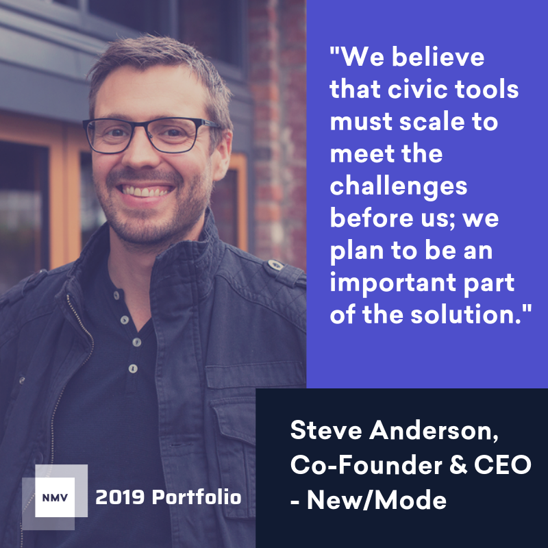 New/Mode, an Advocacy Tech Startup, Receives Grant from Progressive Angel Investor