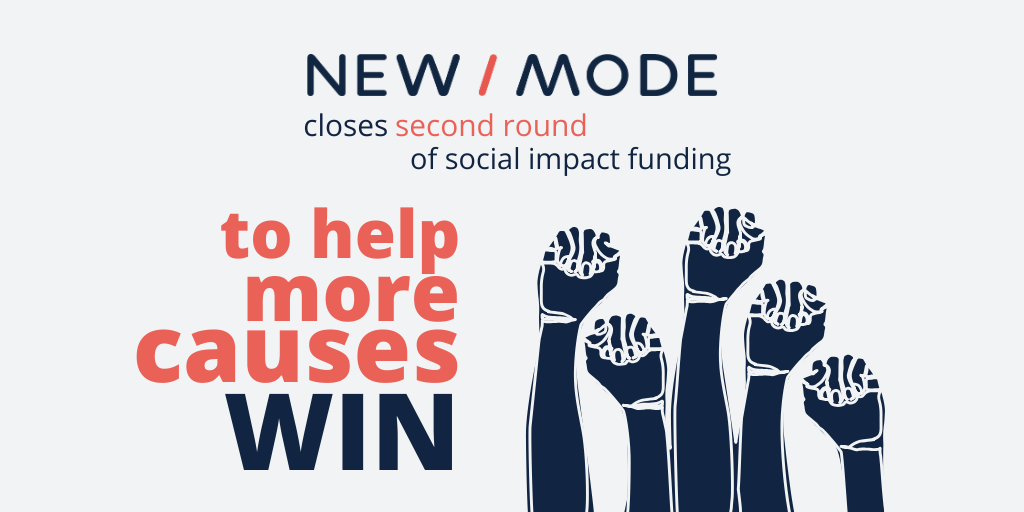 New/Mode, the world's fastest growing advocacy and engagement platform, closes second impact funding round